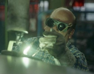 oxy-acetylene welding of steel & iron